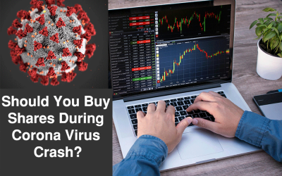 Should You Buy Shares During Corona Virus Crash?