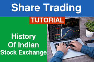 history of Indian stock exchange