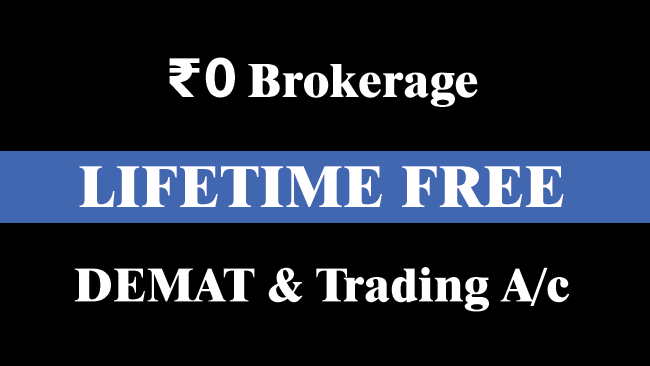 lifetime free demat and trading account