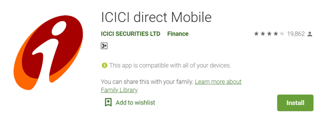 icici direct mobile trading app