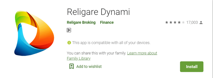 eligare dynami mobile trading app