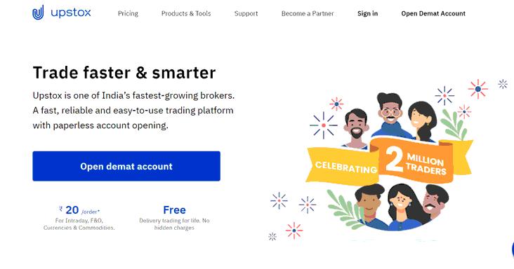upstox website